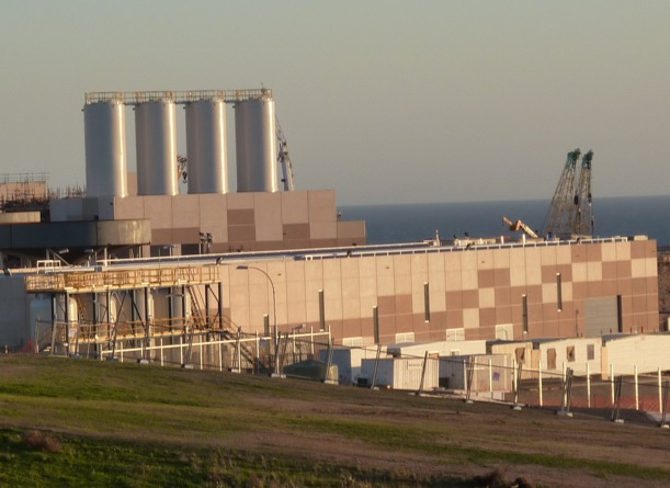 (above) Adelaide Desalination Plant in Australia