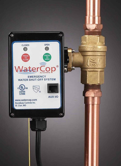 WaterCop Water Shut-Off Valve